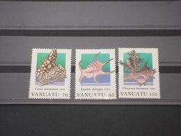VANUATO - 1994 CONCHIGLIE  3 VALORI - NUOVI(++) - Vanuatu (1980-...)