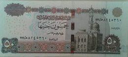 50 Pounds Egypt 2016 UNC Perfix (999) Tarek Amer (Egypte) (Egitto) (Ägypten) (Egipto) (Egypten)  Africa - Egitto