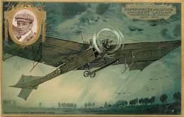 AVIATION , Collection Lefevre Utile , Carte Gaufrée , Hubert Latham , * 358 24 - Aviateurs