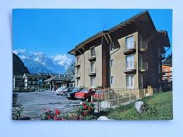 C.P.A. : COURMAYEUR : Hotel Meublé Lo Bouton D'Or - Italy