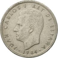 Monnaie, Espagne, Juan Carlos I, 5 Pesetas, 1984, TB+, Copper-nickel, KM:823 - [ 5] 1949-… : Royaume