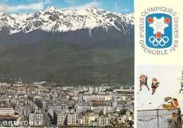 SPORTS - JEUX OLYMPIQUES - 38 - GRENOBLE 1968 ( X° Jeux D'Hiver ) Vue Générale  - CPSM GF Postée 1968 - Isère - Giochi Olimpici