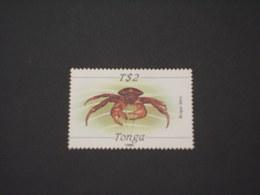 TONGA - 1989 CROSTACEO TS 2 - NUOVI(++) - Tonga (1970-...)