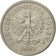 Monnaie, Pologne, 10 Groszy, 1993, Warsaw, TTB+, Copper-nickel, KM:279 - Pologne