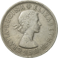 Monnaie, Grande-Bretagne, Elizabeth II, Florin, Two Shillings, 1965, TTB - 1902-1971 : Monnaies Post-Victoriennes