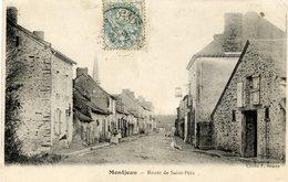 53 MONTJEAN - Route De Saint-Poix - Animée - France