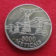 Mozambique 5000 Meticais 1998 Unc Mozambico Moçambique - Mozambique