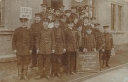 CP 1916 Bahnunterhaltungs Personal Der Müglitztalbahn Chemin De Fer Allemagne - Equipe D'animation Ferroviaire - - Personnages