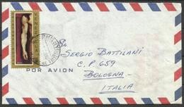 1969 Venezuela STORIA POSTALE Busta CARACAS  BOLOGNA Viaggiata Aerea, Air Mail - Venezuela