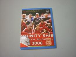 Liverpool UK Football Team Europe's Champions 2006-2007 Greek Sticker - Adesivi