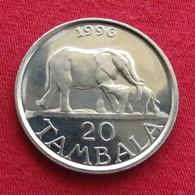 Malawi 20 Tambala 1996 Elephant UNCºº - Malawi