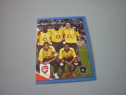 Arsenal UK Football Team Europe's Champions 2006-2007 Greek Sticker - Adesivi