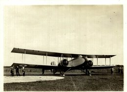 BOULTON PAUL SIDESTRAND  III S WITH XF ENGINES   ++ 11 * 8 CM   AVION AIRCRAFT - Aviación