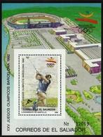 Salvador 1989 / Olympic Games Barcelona 1992 / Athletics - Hammer Throw / Mi Bl 40 / MNH - Estate 1992: Barcellona