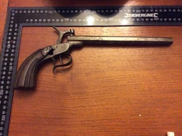 Ancien Grand Pistolet à Identifié - Decorative Weapons