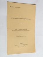Menhir De Gourdon Puy-de-Dôme Docteur G Charvilhat Plaquette 1911 Congrès De Dijon Dédicace Rare - Books, Magazines, Comics