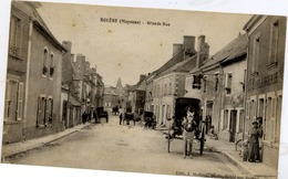 53 BOUÈRE - Grande-Rue - Très Animée, Attelage, Boulangerie... - France