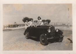 Photo 90 Mm X 63 Mm  - Années 30 - Automobile Voiture Cabriolet - Scan R/V - Automobiles
