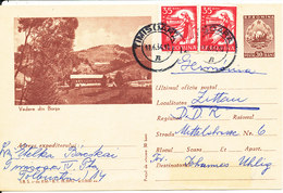 Romania Uprated Postal Stationery Card Timisoara 17-6-1964 Sent To Germany DDR - Covers & Documents
