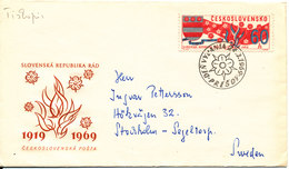 Czechoslovakia FDC 24-3-1969 50 Years National Assamble With Cachet - FDC