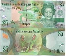 Cayman Islands - 5 Dollars 2014 / 2017 Serie D/2 UNC Lemberg-Zp - Cayman Islands