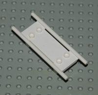 Lego Civière Blanche Avec Roue Ref 4714C01 - Lego Technic