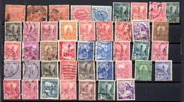 4 - TUNISIE Petit Lot 43 Timbres Oblitérés - Tunesië (1888-1955)