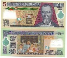 Guatemala - 5 Quetzales 2013 / 2018 UNC Lemberg-Zp - Guatemala