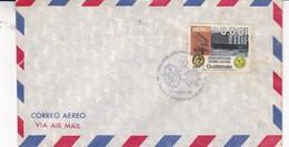 AIRMAIL SOBRE ENVELOPE GUATEMALA OBLITERE VISITA DE SS JUAN PABLO II 1983 - BLEUP - Guatemala