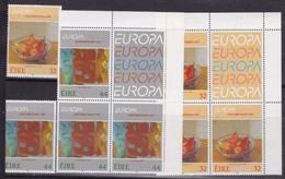 1993 Irlanda ÉIRE Ireland EUROPA CEPT EUROPE 4 Serie Di 2v. MNH** - Europa-CEPT
