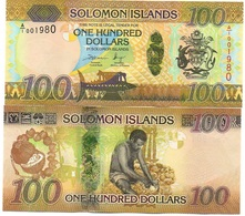 Solomon Islands - 100 Dollars 2015 UNC Lemberg-Zp - Isola Salomon