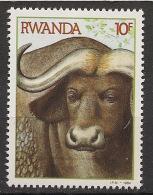 Rwanda - 1984 - N°Yv. 1161 - Buffle / Buffalo - Neuf Luxe ** / MNH / Postfrisch - Rwanda