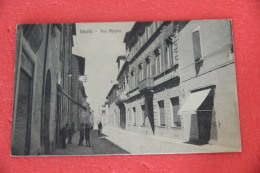 Imola Bologna Via Appia 1924 Ed. Bulzaminii  Animata Molto Rara++++++++ - Italia