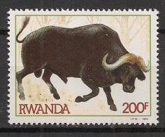 Rwanda - 1984 - N°Yv. 1164 - Buffle / Buffalo - Neuf Luxe ** / MNH / Postfrisch - Rwanda