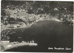 X3851 Santa Margherita Ligure (Genova) - Panorama Aereo Vista Aerea Aerial View Vue Aerienne / Viaggiata 1954 - Italia