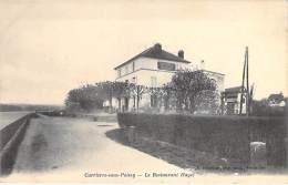 78 - CARRIERES SOUS POISSY : Le RESTAURANT HAYET - CPA Précurseur - Yvelines - Carrieres Sous Poissy
