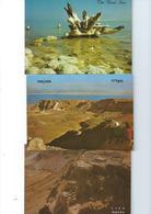 ISRAEL Lot De 7 Superbes Cartes  The Dead Sea La Mer Morte CPM/CPSM En TTBE - Postcards