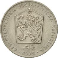 Monnaie, Tchécoslovaquie, 2 Koruny, 1972, TTB, Copper-nickel, KM:75 - Czechoslovakia