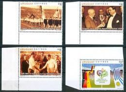 "2005 Uruguay ""Germany 2006"" Coppa Del Mondo World Cup Coupe Du Monde Calcio Football Set MNH** P10 - Uruguay"