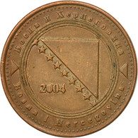 Monnaie, BOSNIA-HERZEGOVINA, 20 Feninga, 2004, British Royal Mint, TTB, Copper - Bosnien-Herzegowina