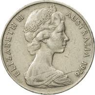 Monnaie, Australie, Elizabeth II, 20 Cents, 1976, TTB, Copper-nickel, KM:66 - Monnaie Décimale (1966-...)