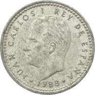 Monnaie, Espagne, Juan Carlos I, Peseta, 1988, TB, Aluminium, KM:821 - [ 5] 1949-… : Royaume