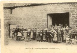 53 PONTMAIN - La Grange Barbedette (17 Janvier 1871) - TRÈS Animée - Carte Précurseur - Pontmain