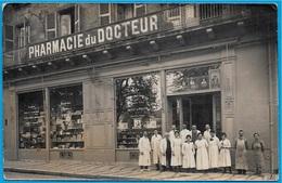 Rare CPA CARTE-PHOTO 24 PERIGUEUX Dordogne - PHARMACIE Du DOCTEUR J. CHARLIER (Place Bugeaud) - Périgueux
