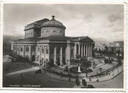 X3868 Palermo - Teatro Massimo / Viaggiata 1952 - Palermo