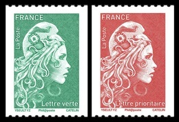 France 2018 Mih. 7074C/75C Definitive Issue. New Marianne MNH ** - France