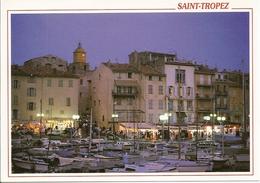 83 Saint Tropez Vu Sur Le Port (2 Scans) - Saint-Tropez