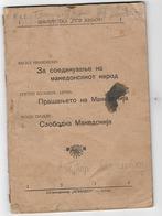 MACEDONIA,  TRI ESEI ZA MAKEDONSKOTO PRAŠANJE, THREE ESEI ON MACEDONIAN ISSUES,  ŠTIP 1944 - Slavische Talen