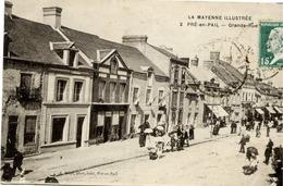53 La Mayenne Illustrée - PRÉ-EN-PAIL - Grande-Rue - Animée - Pre En Pail