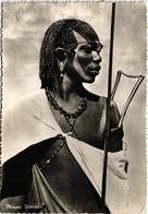 Tanganyika - Uganda - Kenya - Warrior Guerrier Etnic Ethnique Real Photo Timbres Stamps - Uganda